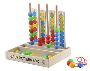 Wooden Bead Pattern Box
