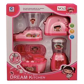 Plastic Kitchen Appliance Set