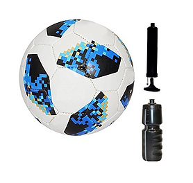 Soccer Ball and Pump