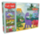 Dino World Puzzle Set