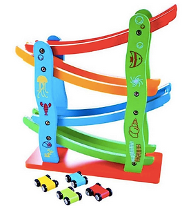Wooden Track Race Set