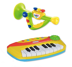 Piano and Trumpet Toys