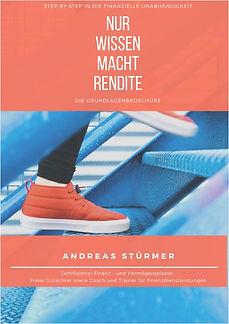 Nur Wissen macht Rendite - Andreas Stürm