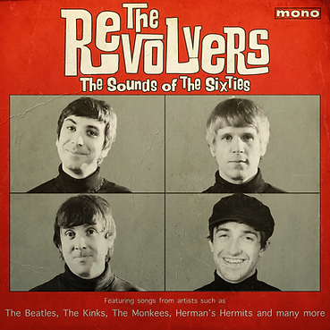 the revolvers 60s tribute album cover sounds of the sixties