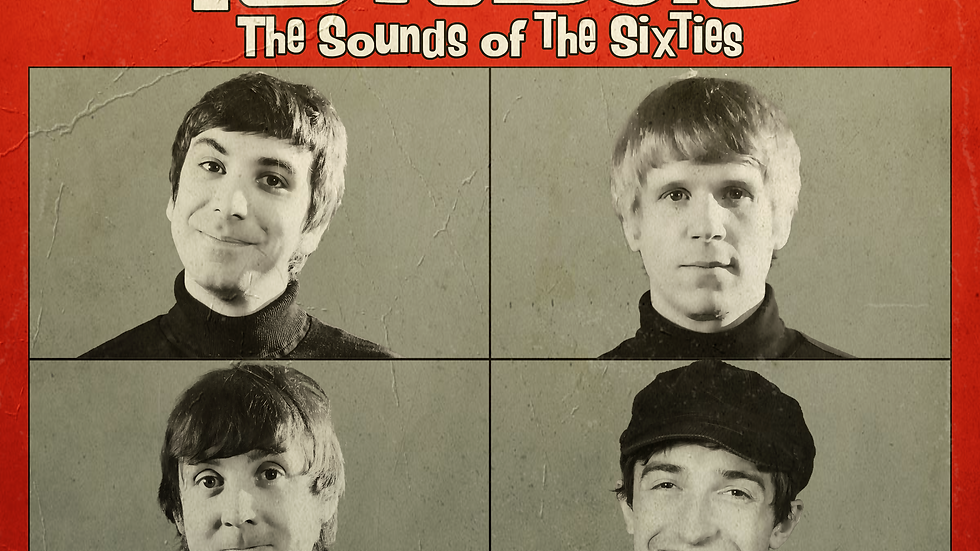The Revolvers The Sounds Of The Sixties CD