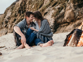 Austin & Brianna's Oceanside Engagement