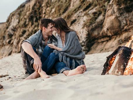 Austin & Brianna's Oceanside Engagement