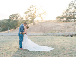 Ashley & Eric's Intimate Private Estate Wedding