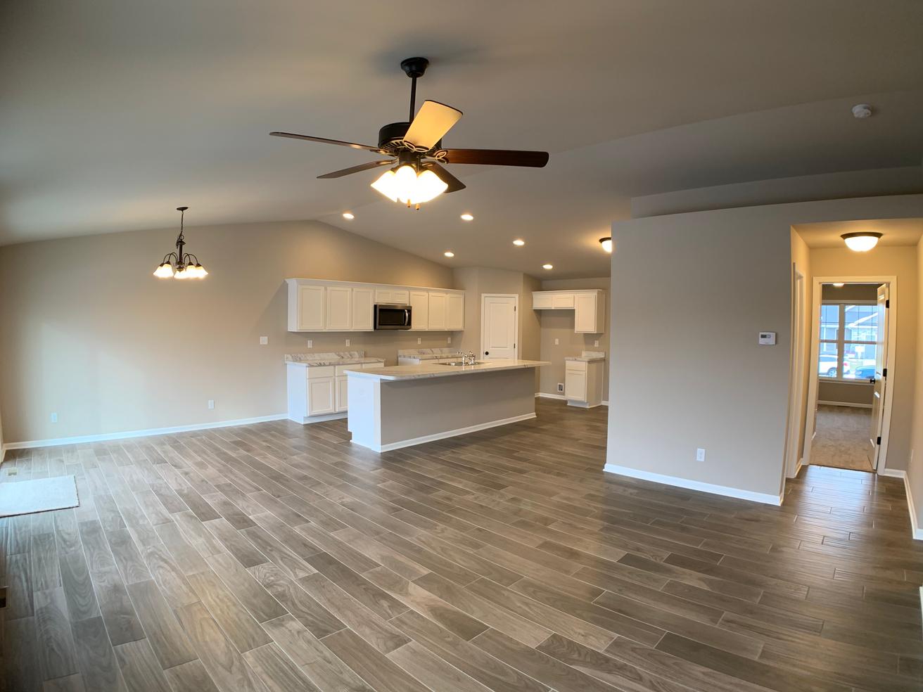 Jefferson Family Room & Kitchen