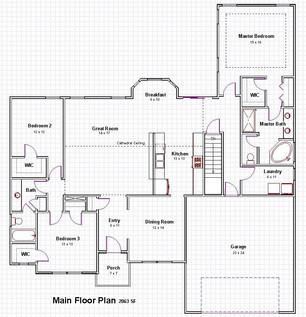 Taylor Main Floor Plan