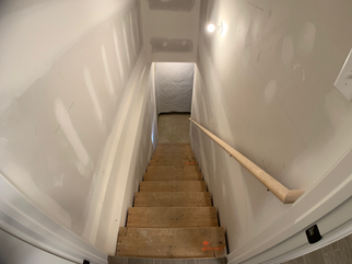 Jefferson Basement Stairs