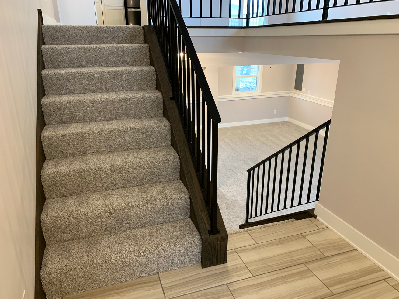 Harrison Upper Level Stairs