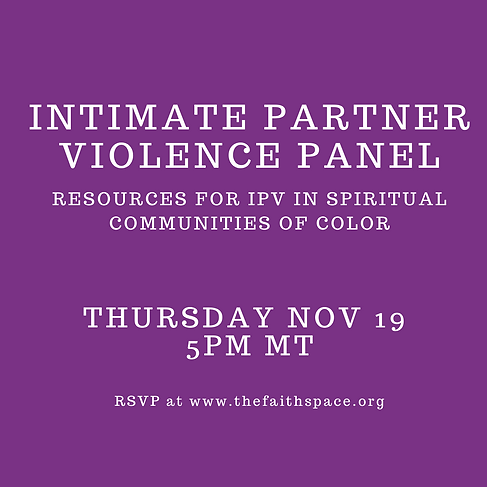 Copy of Intimate Partner Violence Panel