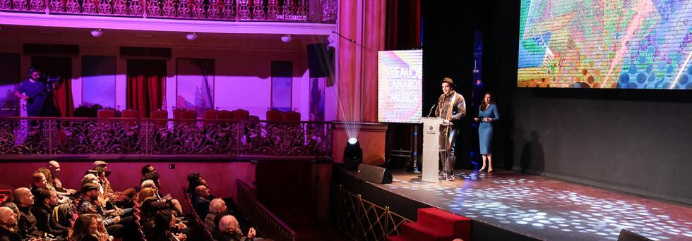 Premios Musica Canarias. F. Luz Sosa-85.