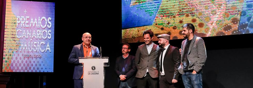 Premios Musica Canarias. F. Luz Sosa-96.