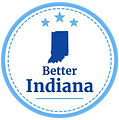 Better Indiana PAC Logo with circle fill