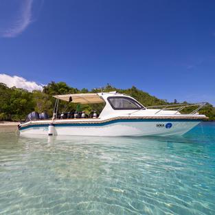 Soul Scuba Divers Boat: Aline