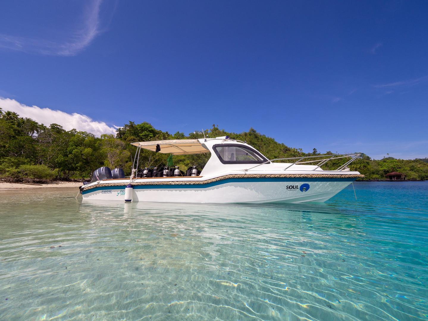 Our boat Aline, built September 2019.