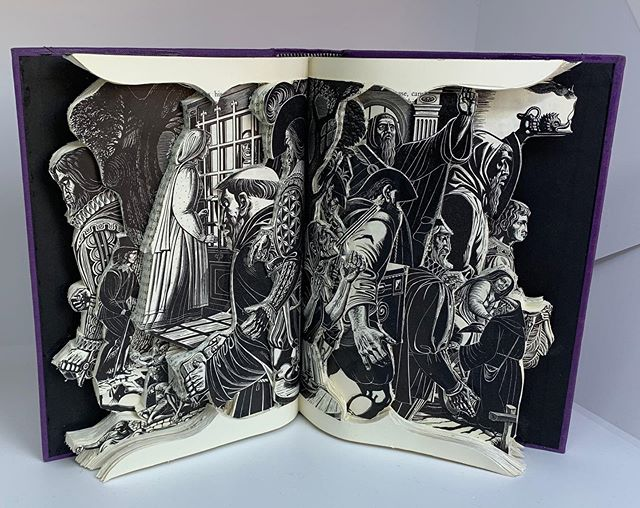 The Betrothed, Book Sculpture