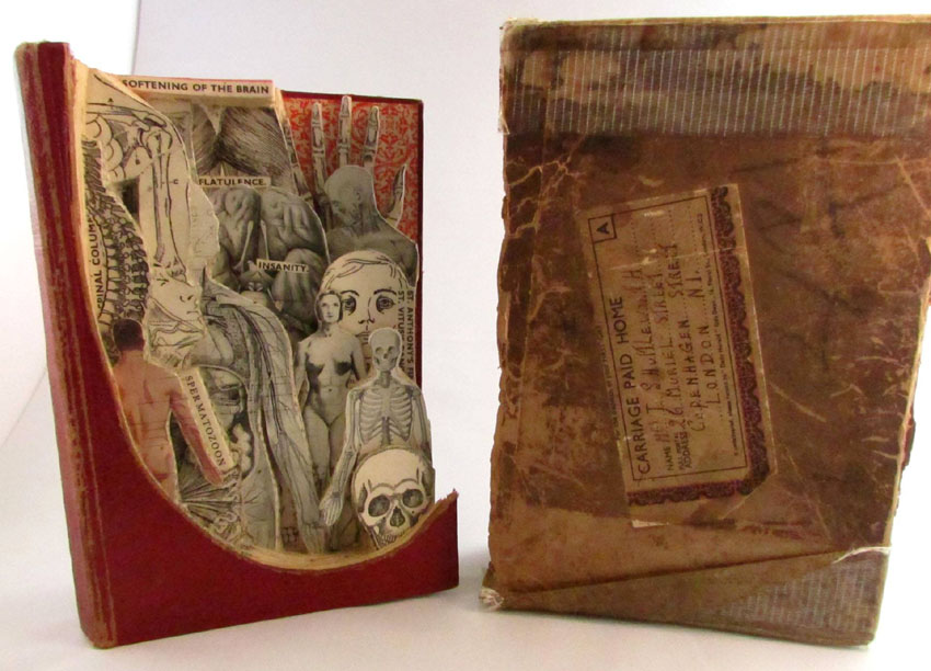 Medical Book Sculpture