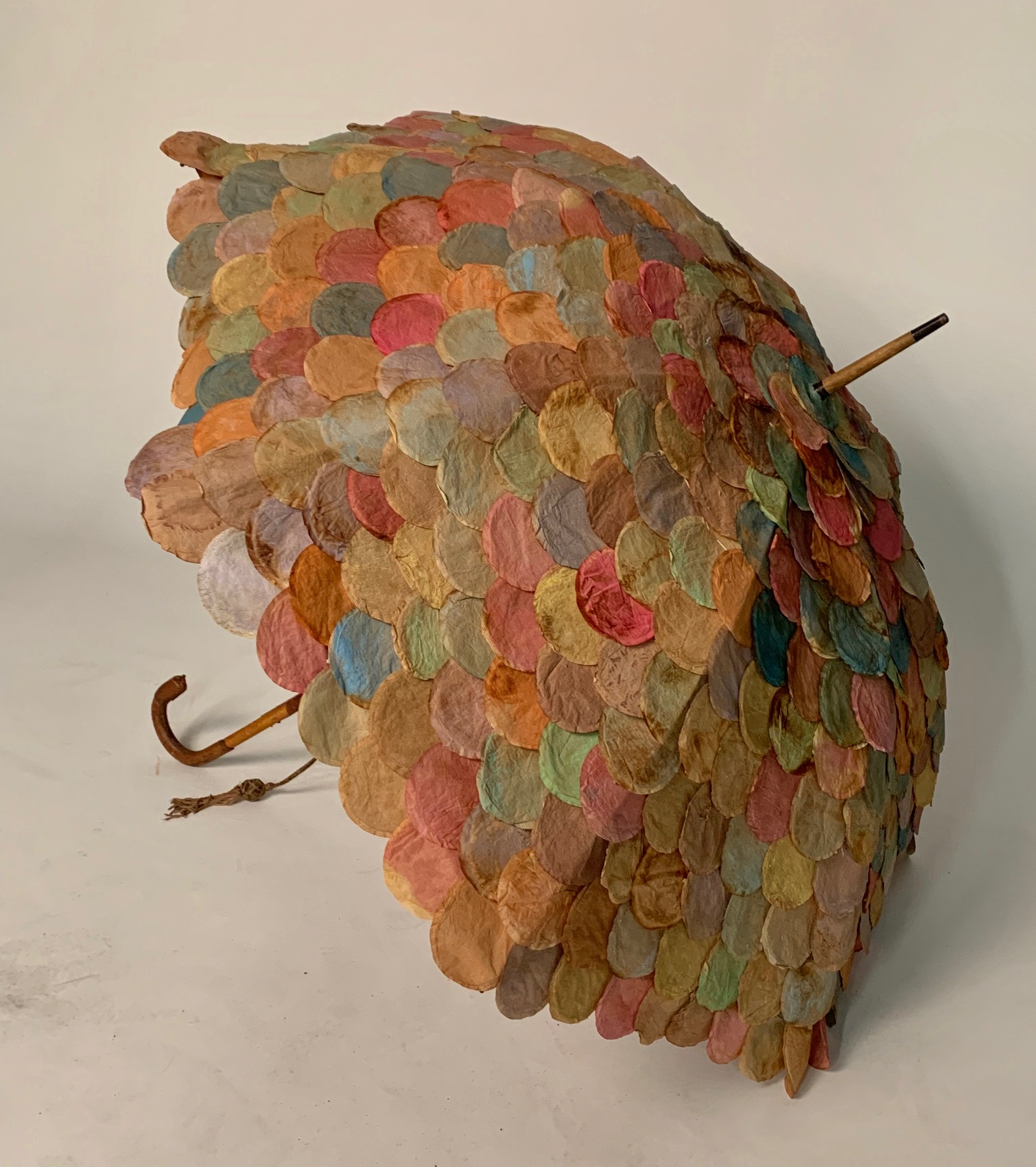 Side View of Tea Bag Parasol