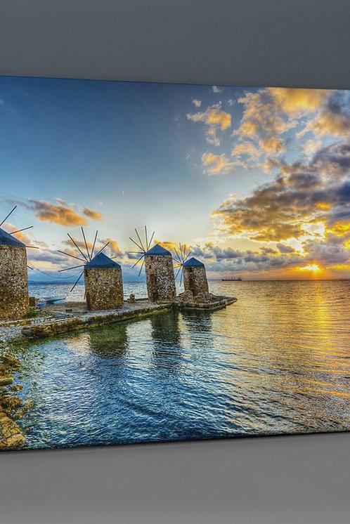 Windmill (Chios) Canvas Printings