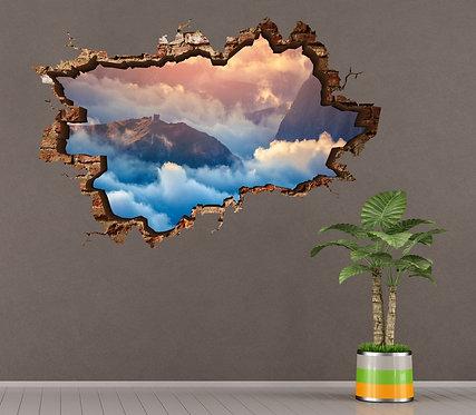 Clouds 3D Wall Sticker