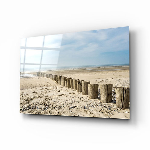 Beach UV Printed Glass Printing