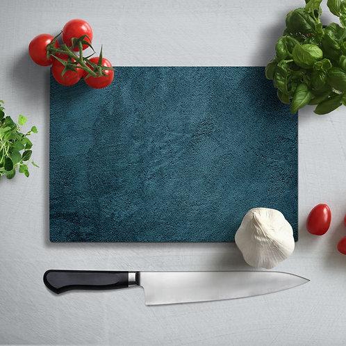 Granite Patterned Uv Printed Glass Chopping Board 35x25 cm