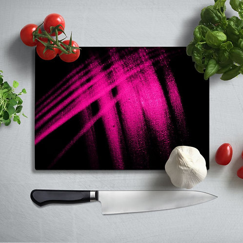 Abstract  Uv Printed Glass Chopping Board 35x25 cm