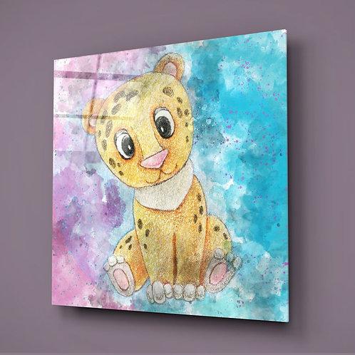 Cheetah UV Printed Glass Printing