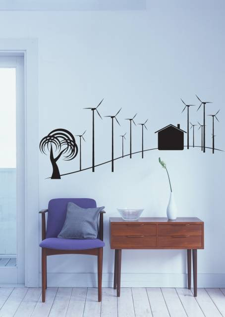 Wind Roses Wall Sticker