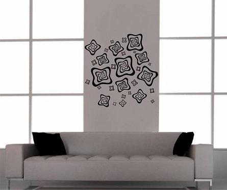 Modern Figure Wall Sticker