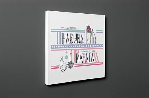 Hakuna Matata Canvas Printings