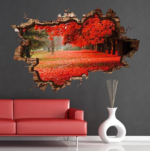 Autumn 3D Wall Sticker