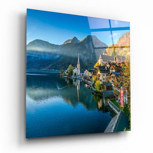 Swiss UV Printed Glass Painting