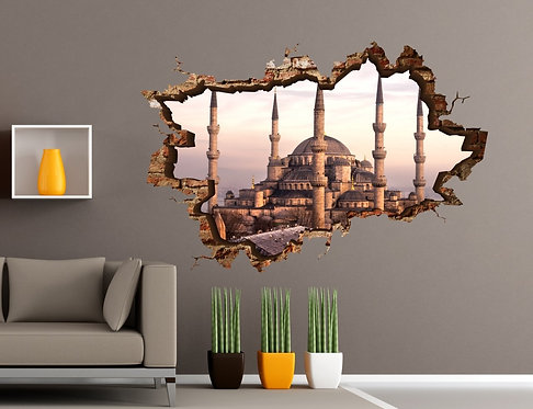 Sultanahmet 3D Wall Sticker