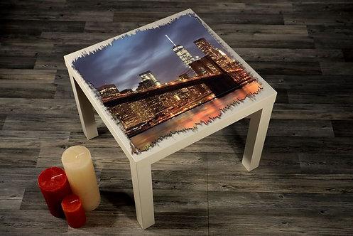 Brooklyn Bridge Printed Coffee Tables