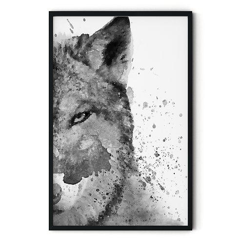 Wolf Framed Wall Art