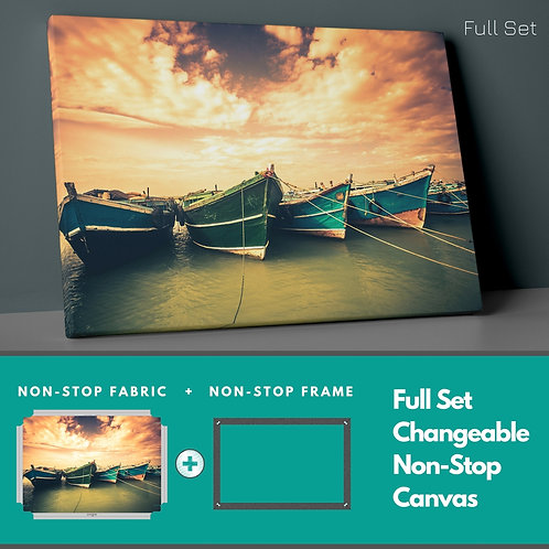 Boats Non-Stop Canvas Printings