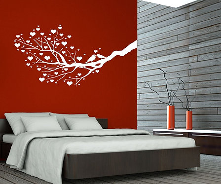 Birds �n Love Wall Sticker