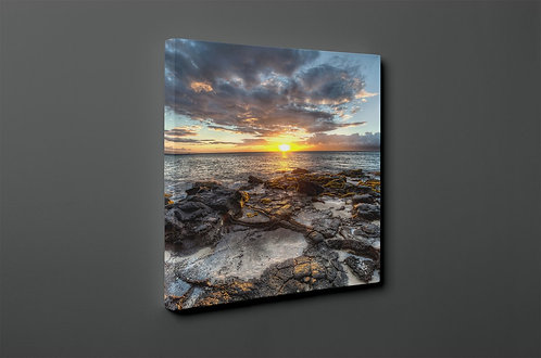 Sunset On The Beach Canvas Printings