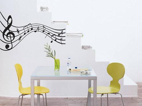 Music Note Wall Sticker