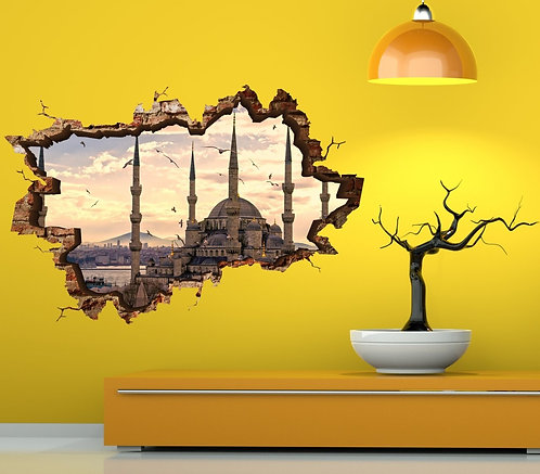 Sultanahmet 3D Wall Sticker