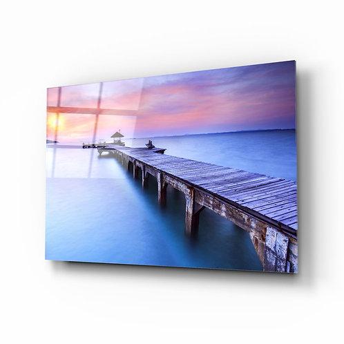 Dock UV Printed Glass Printing