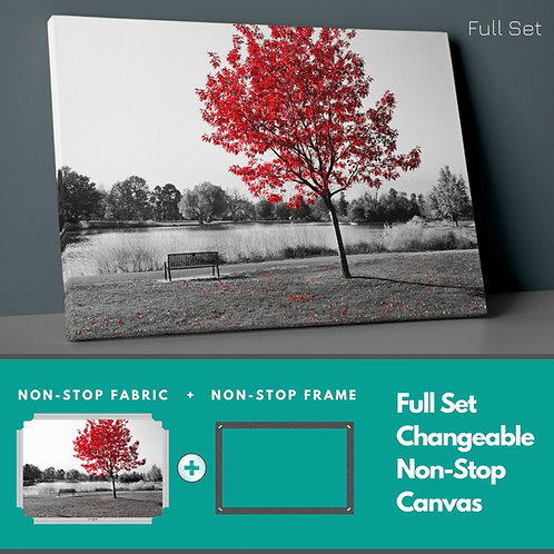 Red Tree Non-Stop Canvas Printings
