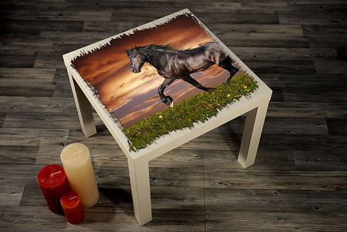 Horse Printed Coffee Tables