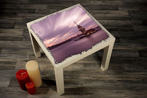 Maiden'S Tower Printed Coffee Tables
