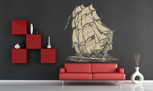 Concept Ship  Wall Sticker