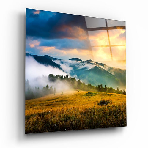 Valley UV Printed Glass Painting